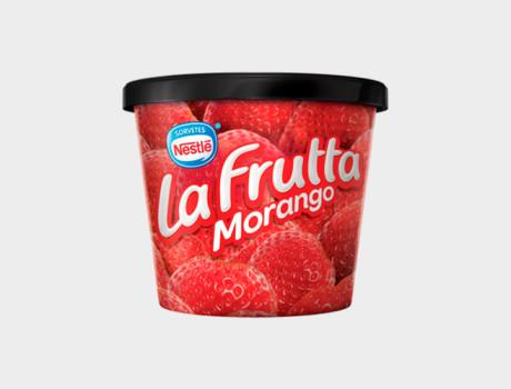 Sorvete Nestlé La Frutta Morango 140ml