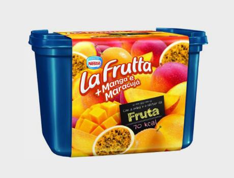 Sorvete Nestlé La Frutta manga e maracujá pote 1,5l