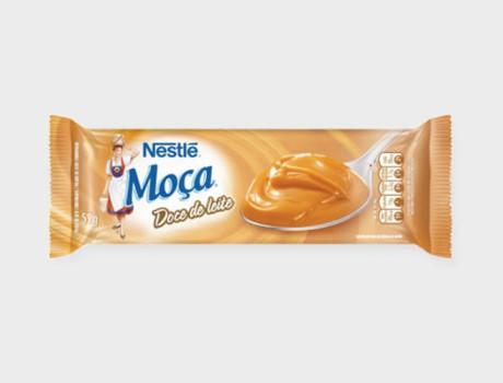 Picolé Moça Doce de Leite 59g