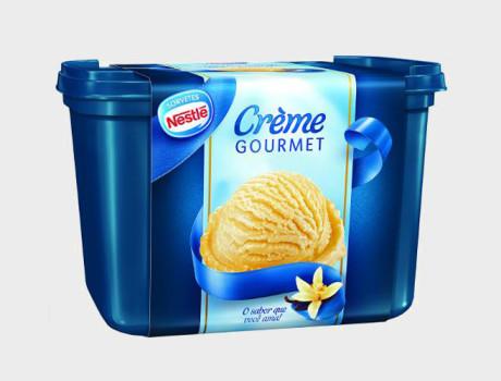 Sorvete Nestlé creme gourmet pote1,5l