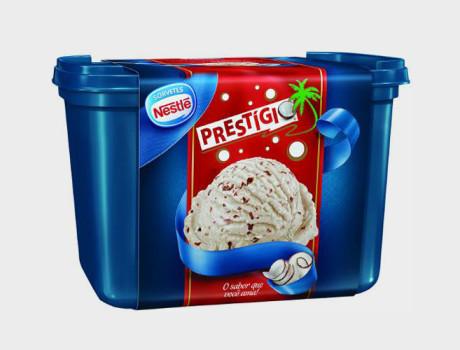 Sorvete Nestlé Prestígio pote 1,5l