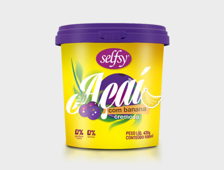 Açaí Selfsy Banana 500ml