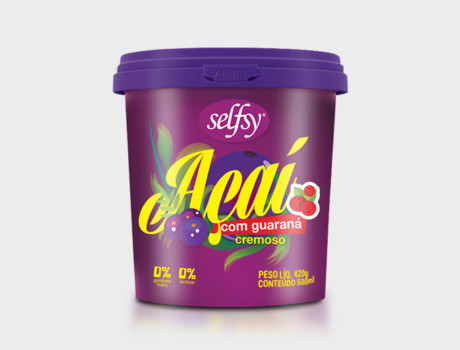 Açaí Selfsy Guaraná 500ml