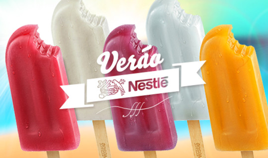Seja um revendedor dos sorvetes Nestlé