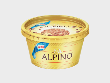 Sorvete Nestlé Copo Alpino 180ml