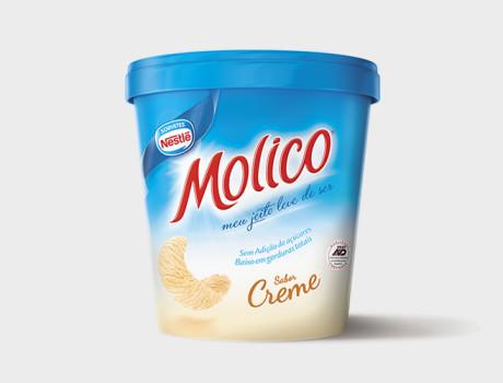 Sorvete Nestlé Molico Creme 455ml