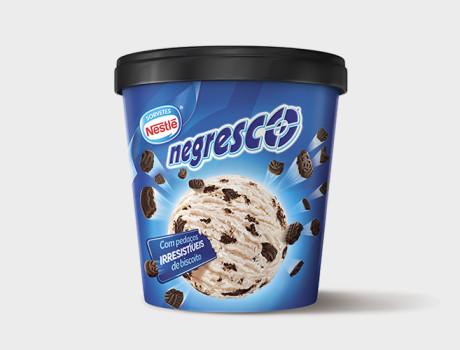 Sorvete Nestlé Negresco 455ml