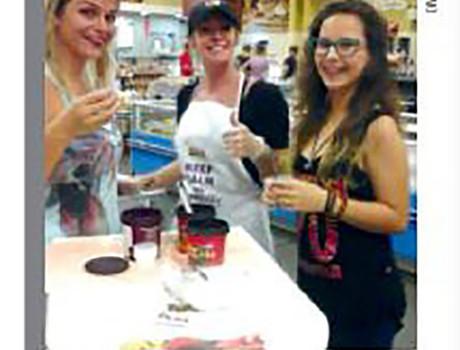 Degustação de Açaí Selfsy é destaque em revista de circulação nacional