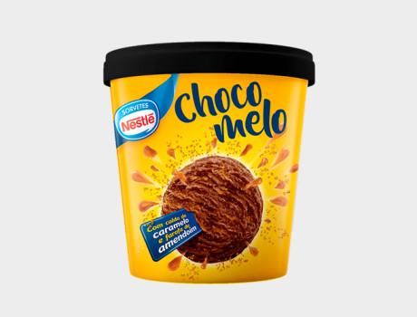 Sorvete Nestlé Chocomelo 455ml
