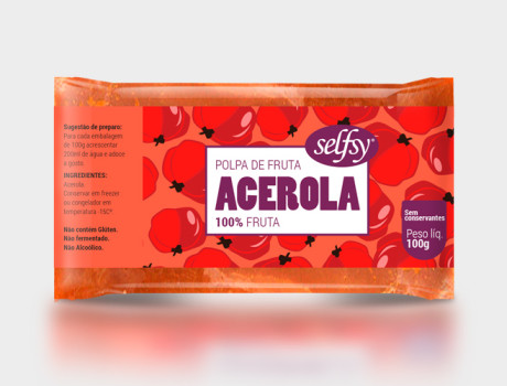 Polpa Selfsy Acerola 100g