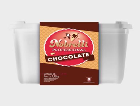 Sorvete Nobrelli 5 l Chocolate