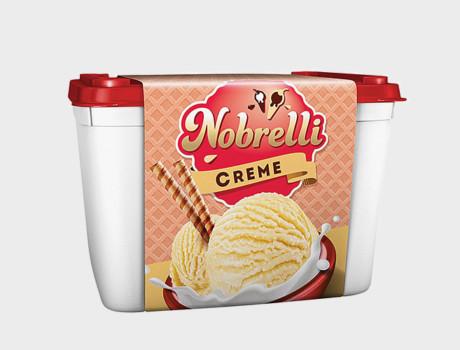 Sorvete Nobrelli Creme 2L