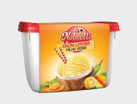 Sorvete Nobrelli Milho Verde 2L