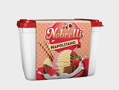 Sorvete Nobrelli Napolitano 2L