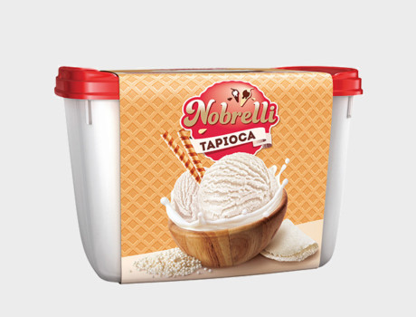 Sorvete Nobrelli Tapioca 2L