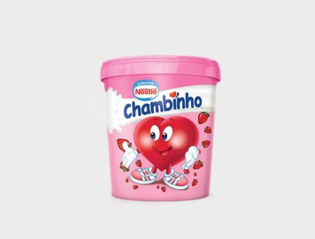 Sorvete Nestlé Chambinho 500ml