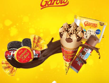 Os famosos Chocolates Garoto viraram sorvete