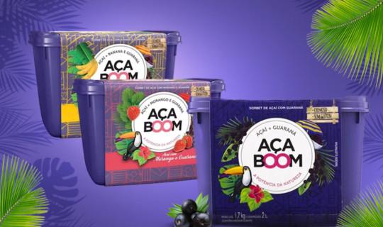 Aça Boom, o novo sorbet de açaí no pote pronto para consumo