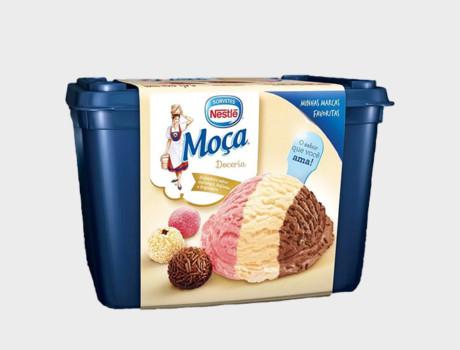 Sorvete Nestlé Trio Moça Pote 1,5L
